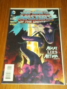 HE MAN MASTERS OF THE UNIVERSE #9 DC COMICS (FEBRUARY 2014) NM (9.4)