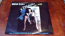 """IRENE CARA HELEN ST. JOHN FLASHDANCE 1st UK PS 45 7"""" 1983 GIORGIO MORODER FUNK"""