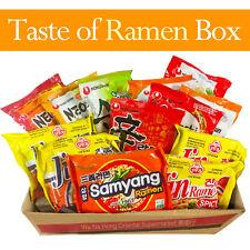 Korean Top Selling Assorted Mix Ramen Noodle Box (15 Pack) - Nongshim Samyang