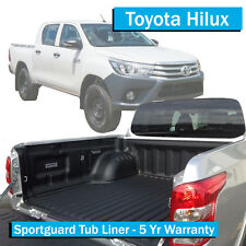 TO FIT: Toyota Hilux  SR5 (2016-Current) - Sportguard Tub Liner - Dual Cab Ute