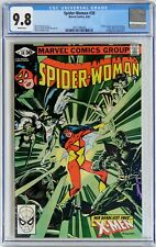 SPIDER-WOMAN #38 (Marvel 1981) CGC 9.8 NM/MT 2nd Siryn appearance, X-Men - WHITE