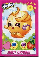 Topps Shopkins Series 1-4 Trading Cards Base Card #19 Juicy Orange