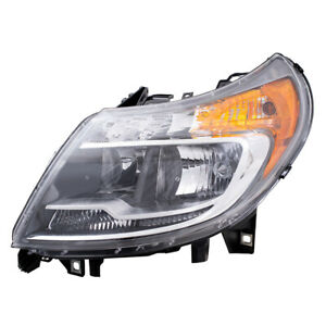 Drivers Halogen Lens Combination Headlight Assembly for 2014-2020 RAM Promaster