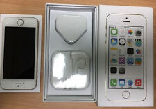 APPLE IPHONE 5S-GOLD 16GB UNLOCKED SIM FREE PHONE WITH BOX Power Button Faulty