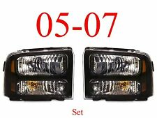 05 07 Super Duty Harley Davidson Head Light Set, F250 F350 Excursion Both L&R!!