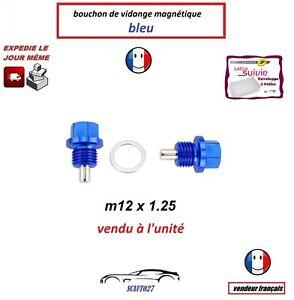 bouchon/boulon vidange magnétique m12x1.25 convient nissan/rover/toyota/suzuki