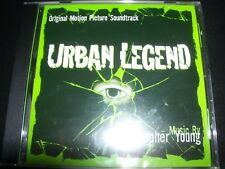 Urban Legend Soundtrack Score By Christopher Young (Promo) CD – New