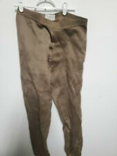 Underwear Cold Weather Polypropylene x large pants  USGI Army Military Brown new