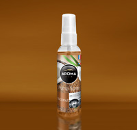 Parfum Voiture Aroma Car Pump Spray Coconut Noix De Coco 75ml