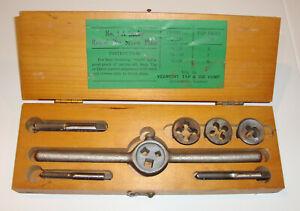 No. 1 Lucky Round Die Screw Plate with Original Box Vermont Tap & Die