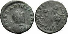 Arcadius nummus Constantinopolis 388-392 salvs REI PVBLICAE ⳨ Ric 86 C) 2-Rare