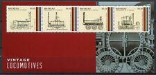 St. Vincent Mayreau 2013 Hist. Railway Trains Railways Locomotive MNH