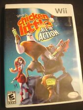 Disney's Chicken Little: Ace in Action (Nintendo Wii, 2006) Video Game Complete