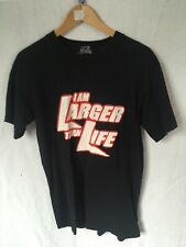 Men's Official World Wrestling Size Small T-shirt WWF Larger Than Life Jericho