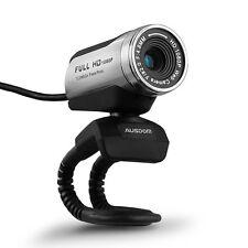 AUSDOM Webcam Calling and Recording,1080p Camera, Desktop or Laptop Webcam
