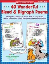 40 Wonderful Blend & Digraph Poems