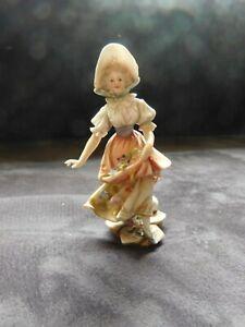 Wunderschöne antike Porzellan Figur-Von 1908-Volkstedt-Rudolstadt-Top
