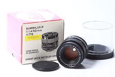 Leica Summilux – R     1.4/50mm   3CAM