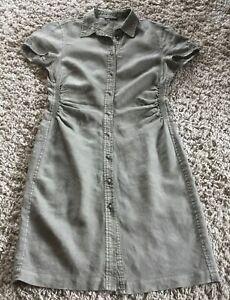 Hemdblusenkleid von MARCO POLO - Größe 38/40 - 100% Leinen!