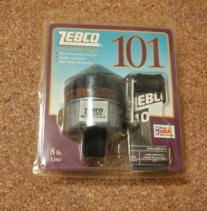 NOS 1993 ZEBCO 101 Spin Cast Reel  8Lb. Line Freshwater Push Button