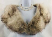 Vintage 1940s-1950s Silver Fox  Fur Stole/Shoulder Wrap