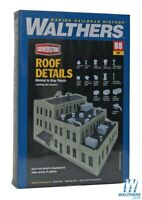 Walthers 933-3733 Roof Details Kit : HO Scale