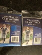 New listing Two Rain Ponchos (one blue and one clear)
