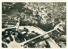 Berne Bern Schweiz Switzerland Suisse Zeppelin Airship Dirigible CARD IMAGE 30s
