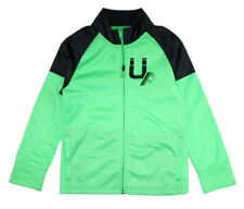 Under Armour Boys Green & Gray Track Jacket Size 5