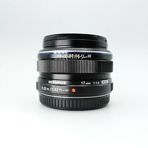 Second Hand Olympus M.Zuiko Digital 17mm f/1.8 Lens - Good Condition