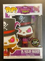 FUNKO POP DISNEY DR FACILIER MASKED GLOW CHASE PRINCESS FROG - MINT BOX