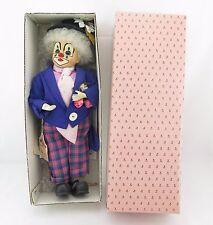Brinn's Collecible Porcelain Doll  Big Top Series Billy the Clown