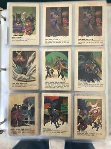 1966 Batman Cereal Cards - Very Poor Condition