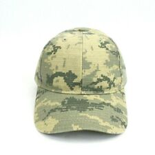 Mens Baseball Hat Pixelated Camo Adjustable Blank Cap Camouflage Curved Brim