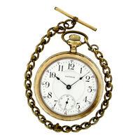 Antique Waltham Special Model 1883 Hand Wind 18s Open Face Fine 17j Pocket Watch