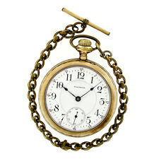 Antique Waltham Special Model 1883 Hand Wind 18s Open Face Fine 17j Pocket Watch