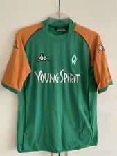 "Werder Bremen Kappa Double Gewinner Trikot 2003/04 ""Young Spirit"" Gr.XXL"