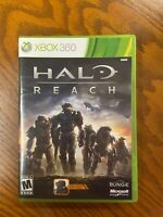 HALO Reach (Microsoft Xbox 360 , 2010) Tested Complete With Manual