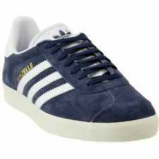 Adidas Originals Gazelle Women's Casual Lifestyle Shoes Blue/White/Gold BY9353