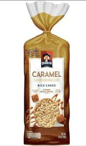 Quaker Rice Cakes, Caramel 6.5 Oz (1 Bag)