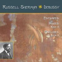 RUSSELL SHERMAN-ESTAMPES/IMAGES BOOK II/PRELUDES BOOK II  CD NEU DEBUSSY,CLAUDE