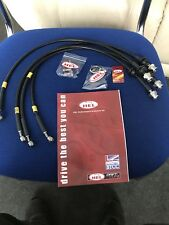Hel Braided Brake Line Set Vauxhall Vxr8