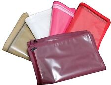 ( 12 pc )oneside clear plastic clothes sari saree garment storage , cover bags