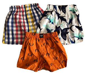 Gap Kids 3 Pairs Boxer Underwear - Cotton Size XS