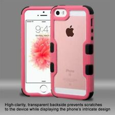 Étuis, housses et coques Bumper noir iPhone SE pour téléphone mobile et assistant personnel (PDA)