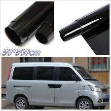 Limo Black 50X300cm Autos Window Tint Film Glass 5% Roll Sunscreen Vinyl Anti-UV
