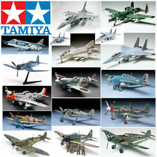 Tamiya Model Kits Military Aircraft WWII Arts Crafts Hobbies Aeroplane Airplane
