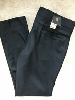 "HUGO BOSS BLACK LABEL BLACK ""BARTLEY"" SLIM DRESS TROUSERS PANTS (38R 54) NEW TAG"