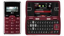 LG EnV2 VX9100 Maroon (Verizon) Cellular Phone