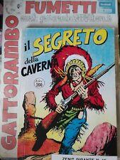 Il Segreto della CavernaN.16 Zenit gigante raro prima Serie Anastatica-Magazzino